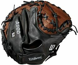 Wilson A500 Youth Leather Right Hand Throw Catchers Baseball Mitt Glove 32