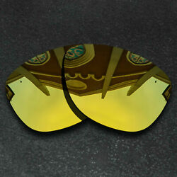 Gold Replacement Lenses for Oakley Frogskins Sunglasses Frame Polarized $8.58