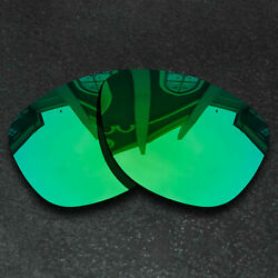 Green Replacement Lenses for Oakley Frogskins Sunglasses Frame Polarized $8.58