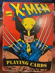 Vintage 1993 Marvel Comics X-men Playing Cards All 52 Cards Are There Great Sha