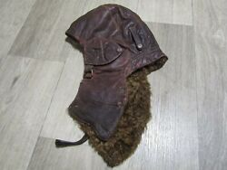 Airplane Pilot's Hat Of The Red Army Air Force Original