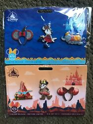 Disney Minnie Mouse The Main Attraction Series Big Thunder Mountain Dumbo Pins