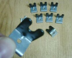 New Boss 429 Mustang Neoprene Coated Heavy Spark Wire Clips And Correct Screws.