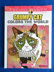 GRUMPY CAT COLORS OF THE WORLD ADULT COLORING BOOK 2016