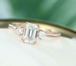 4.25 Ct Very Elegant Off White Diamond Ring With Diamonds Accents Great Shine
