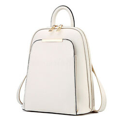 Fashion Women Leather Travel Lady Satchel Backpack School Rucksack Shoulder Bag $37.88