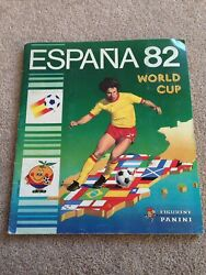 Panini World Cup 1982 / 82 Espana Excellent Condition. Complete.