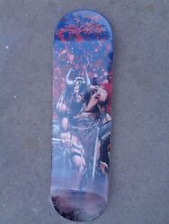 2013 Conan Skateboard 9 Of 10 Made Signed Neal Adams Mint Condition Beyond Rare