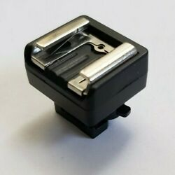 Canon Mini Vixia Advanced Hot Shoe Adapter - Gx10 Hf G50 G40 G30 G21 G20 G26 G10