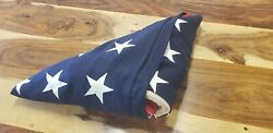 48 Star Wwii Us Ensign No.7 Navy 5and039 X 10and039 American Flag Mare Island 1941
