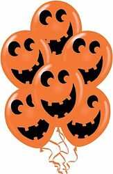 Pmu Halloween Balloons Laughing Faces 11 Available In Different Designs And Packs