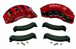 99-04 Ford F-250/350/excrsion Ssbc Quick Change 8 Piston Front Caliper Kit Red