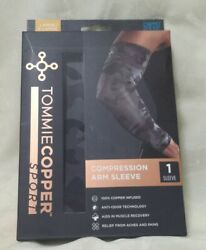 New Tommie Cooper Sport Compression Arm Sleeve 1 Size L XL. $8.89