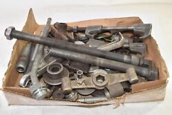 Huge Lot Of Misc Automotive Pulley Tooling, Mechanic Pulleys, Mechanic Tooling