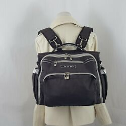 JuJuBe BFF backpack diaper bag Black with Silver $35.88