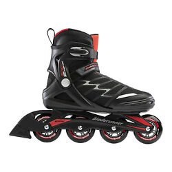 Rollerblade Advantage Xt Adult Menand039s Inline Skates Size 7 Black Red Open Box