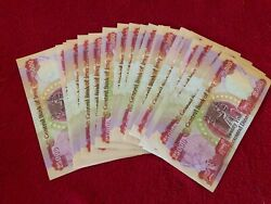 500000 Iraqi Dinar - 20 X 25000 Crisp And Uncirculated - Active And Authentic