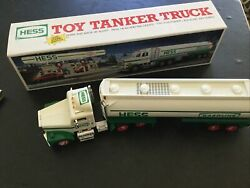 Hess 1990 Tanker Truck Toy Includes Original Box New In Box Never Displayed