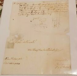 Rare Queen Maria Anna Of Spain 1606-1646 Psa Dna Autograph Signed Document