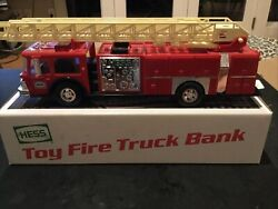 Hess 1986 Toy Fire Truck New In Box Vintage