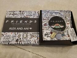 Alex And Ani Friends, Couch And Pivot Cluster Charm Bangle Bracelet Nwt In Box