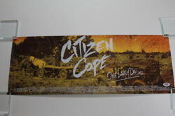 Citizen Cope Signed Autograph Concert Tour Poster - One Lovely Day 2012 Psa