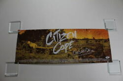 Citizen Cope Signed Autograph Concert Tour Poster - One Lovely Day 2012 B Psa