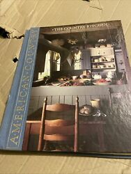 American Country The Country Kitchen - Time-life Books 1988 Hardcover