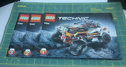 Replacement Part For Lego Technic 4x4 Crawler 9398 - Instructions Manuals 1 2 3