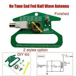 Diy Kit / Finished No Tune End Fed Half Wave Antenna 50 Ohms 100mmx71mm Portable