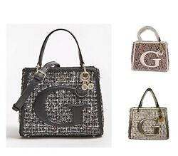 Chrissy Tweed Tote Handbags With Crossbody Strap 3 Colors Bags NWT TW744005 $39.99