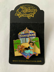 Disney Auctions Dlr Disneyland Sign Marquee Jasmine Flying Carpet Abu Pin Le New