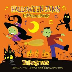 Kids Dance Party: Halloween Jams The Party Cats CD