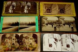 V115,nice Lot Of Stereoviews Europe Various Pub Mostly 1800's