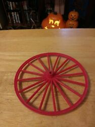 Marx Johnny West Horse And Covered Wagon Front Wheel Original Replacement Part