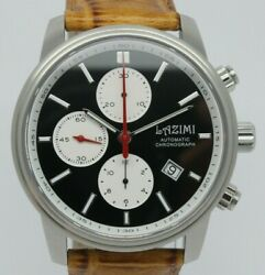Lazimi Automatic Chronograph 7750 42mm Stainless Steel Men Watch Limited Edition