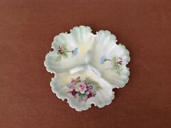 Lefton China Hand Painted Porcelain Candy Dish 5204