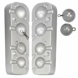 Mould For Cannonballs Loops Or Swivels, Ideal Boat Fishing, Wrecking Cod Ling
