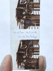 Wwi French Glass Stereo Slides Lot Woodrow Wilson In Paris - 45mm X107mm
