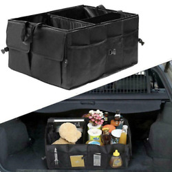 Car Trunk Cargo Storage Bag Organizer Foldable Multi Purpose Holder Box
