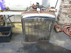 1964 Reo Gold Comet Grill Shell With Letters And Badge