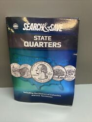 Whitman Search And Save State Quarters Including The D.c And Us Territories Newk