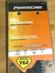New Powercare Y62 18 Bar And Chain Chainsaw Combo 463-468 18a File Size 5/32