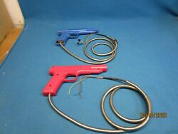 Used Untested Pink And Blue Optical Gun For Parts Or Repair