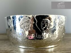 American Sterling Silver Greek Mythology Style Bowl By George W Shiebler And Co.