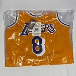 1996-97 Los Angeles Lakers Kobe Bryant 8 Mitchell And Ness Authentic Nba Jersey