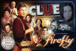 Firefly Clue Classic Mystery Game Joss Whedon New Sealed Rare Out Of Print