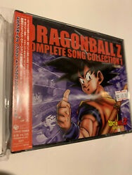 Dragonball Z Complete Song Collection 1 Box Series Cd Ost Anime Game Soundtrack
