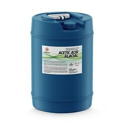Alliance Chemical - High Purity Acetic Acid Glacial 100 - 15 Gallon Carboy