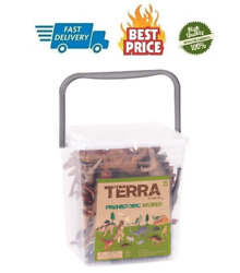 Terra by Battat – Assorted Miniature Dinosaur for Kids 3 60 Pc $32.99